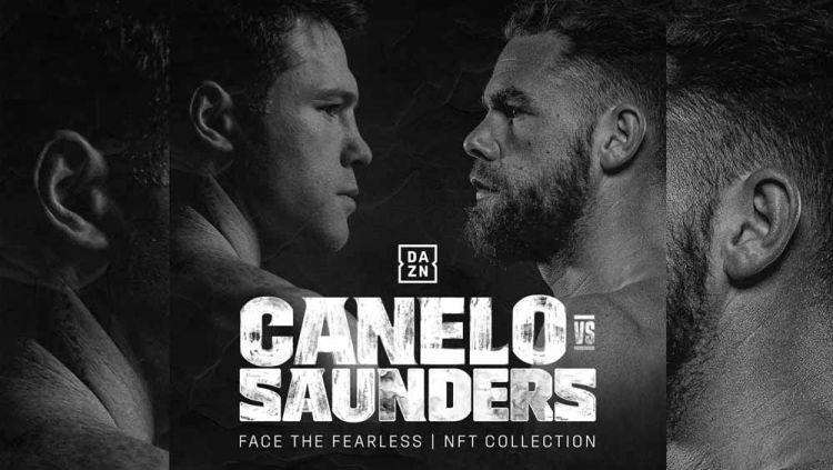 Canelo Alvarez vs Billy Joe Saunders. Copyright: © Instagram@daznboxing