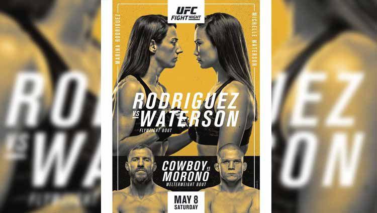 Marina Rodriguez vs Michelle Waterson di UFC Vegas 26 Copyright: © UFC