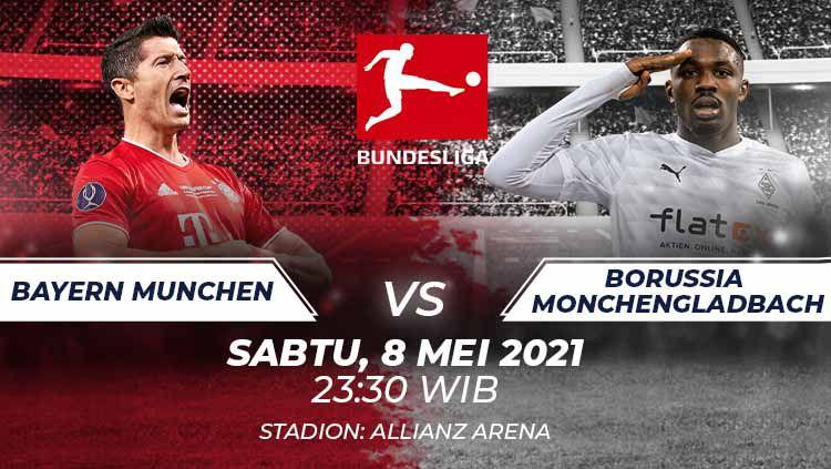 Bayern Munchen vs Borussia Monchengladbach. Copyright: © Grafis:Frmn/Indosport.com