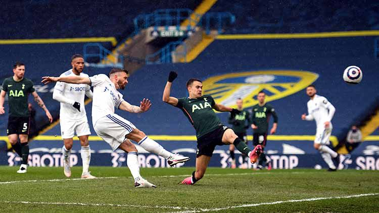 Berikut hasil Liga Inggris antara Leeds United vs Tottenham Hotspur. Copyright: © Oli Scarff/PA Images via Getty Images
