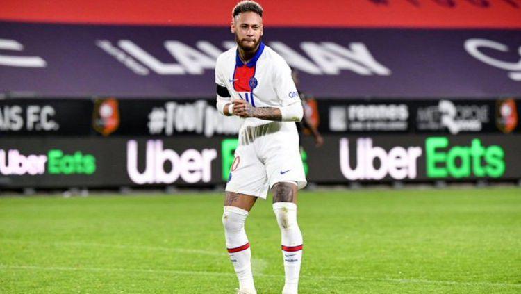 Klausul rahasia yang ada di dalam kontrak baru Neymar dengan Paris Saint-Germain (PSG) terungkap, apakah nama Barcelona disebut? Copyright: © Twitter @Ligue1UberEats