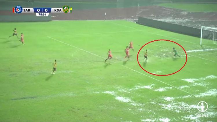 Pertandingan Liga Super Malaysia antara Sabah vs Kedah Copyright: © Youtube/Malaysian Football League