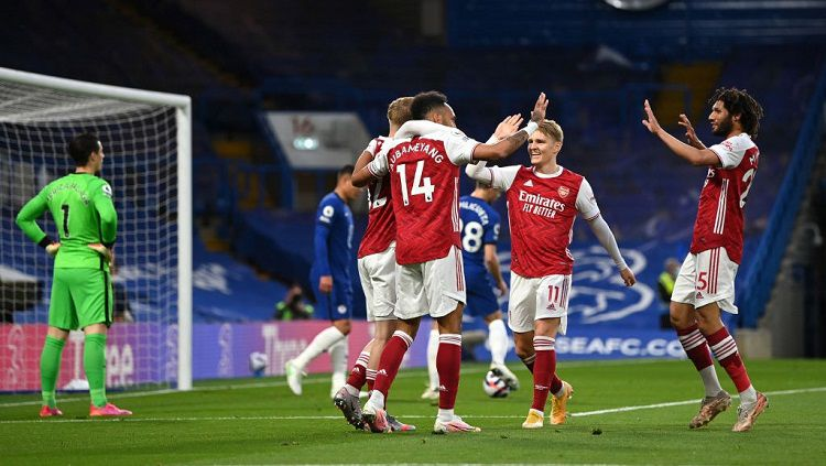 Top 5 News: Rekap Hasil Pra Musim Klub Liga Inggris, Islam Makhachev Juara. Copyright: © Shaun Botterill/Getty Images