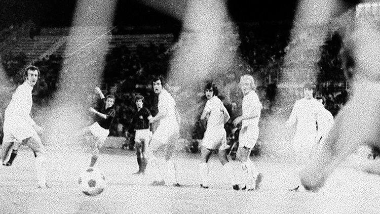 Pertandingan final Piala Winners antara AC Milan kontra Leeds United, 16 Mei 1973. Copyright: © AC Milan