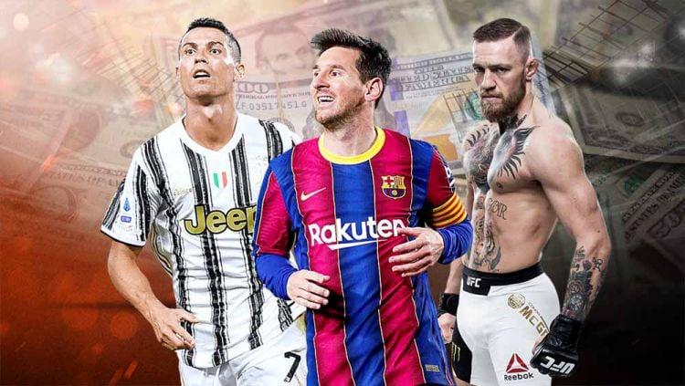 10 daftar atlet dengan pendapatan tertinggi di dunia. Copyright: © Grafis:Yanto/Indosport.com