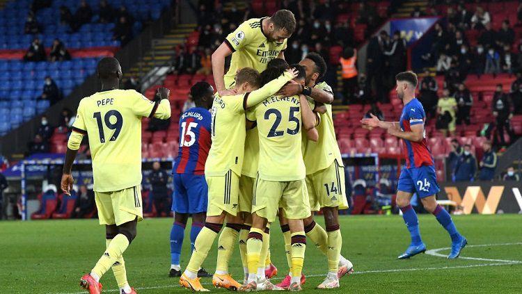 Hasil Pertandingan Liga Inggris: Crystal Palace vs Arsenal - INDOSPORT