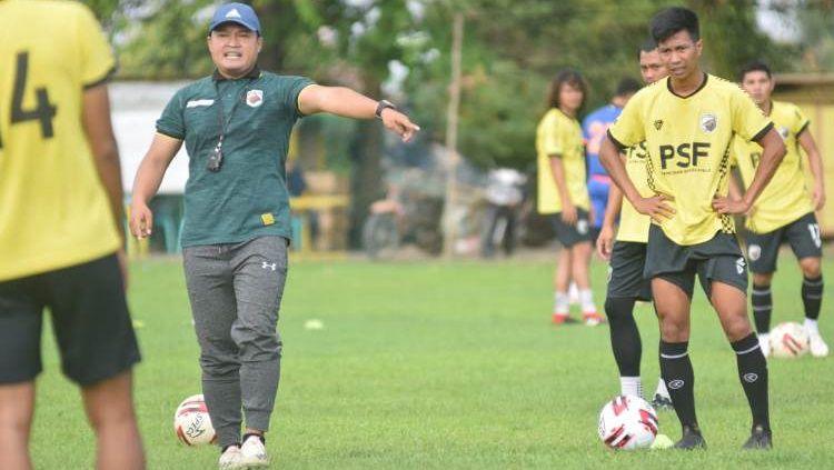 Muba Babel United mulai menjalani latihan perdana pasca-libur Idul Fitri. Copyright: © Media Muba Babel United