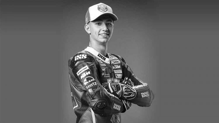 Jason Dupasquier, mengalami kecelakaan di Mugello, Rider Moto3 dinyatakan wafat. Copyright: © Instagram@@MotoGP