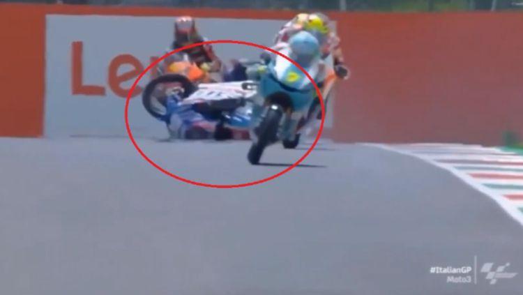 Kecelakaan Pembalap Moto3, Jason Dupasquier Copyright: © FoxSports