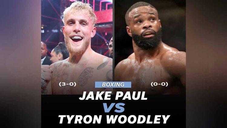 YouTuber Jake Paul bakal hadapi petarung UFC, Tyron Woodley di duel tinju. Copyright: © Instagram@mmajunkiedotcom