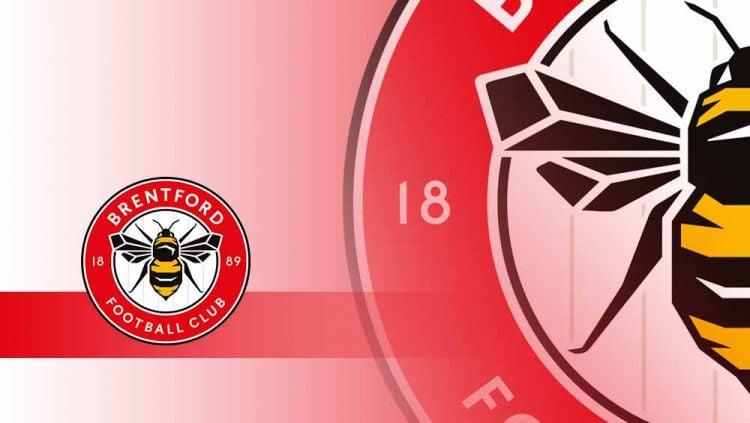 Logo Brentford FC. Copyright: © Grafis:Yanto/Indosport.com