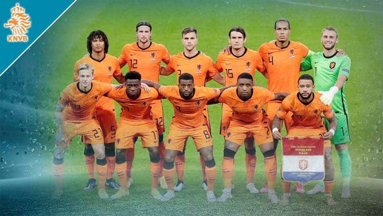 Timnas Belanda di Euro 2020. Copyright: © Grafis:Yanto/Indosport.com
