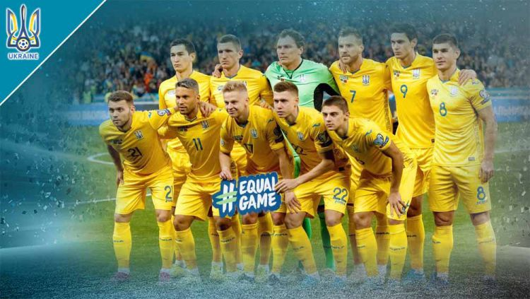 Timnas Ukraina di Euro 2020. Copyright: © Grafis:Yanto/Indosport.com