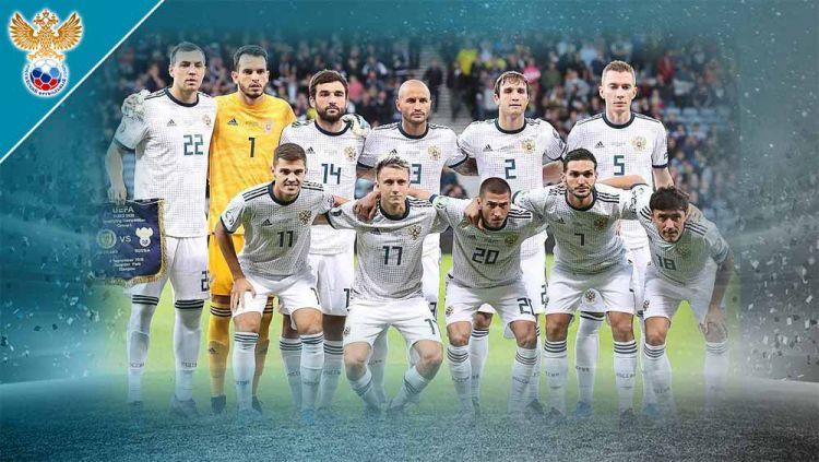 Timnas Rusia di Euro 2020. Copyright: © Grafis:Frmn/Indosport.com