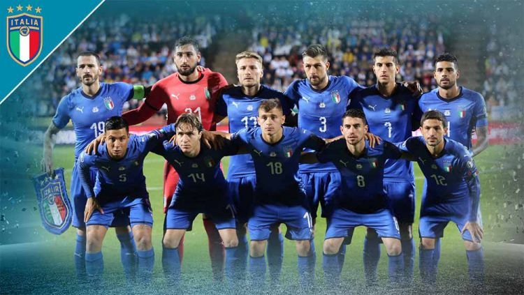 Timnas Italia di Euro 2020. Copyright: © Grafis:Yanto/Indosport.com