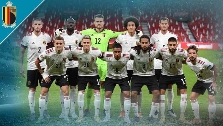 Timnas Belgia di Euro 2020. Copyright: © Grafis:Yanto/Indosport.com