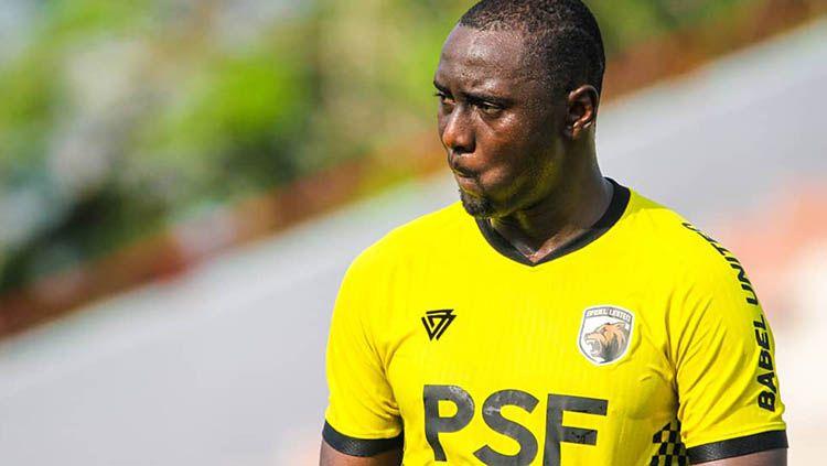 Mamadou Hady Barry ikuti trial di Muba Babel United. Copyright: © Muba Babel United.