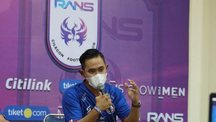 Presiden klub Arema FC, Gilang Widya Pramana. Copyright: © Media Officer Arema