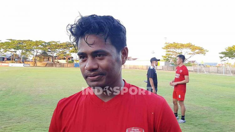 Rekrutan anyar PSM Makassar jelang Liga 1 2021/22, Ilham Udin Armaiyn. Copyright: © Adriyan Adirizky/INDOSPORT