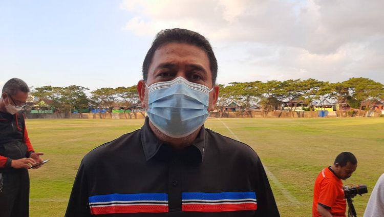 Klub sepakbola Sulawesi Selatan PSM Makassar, mulai merasakan kejenuhan dalam berlatih lantaran status Liga 1 yang masih tak jelas. Copyright: © Adriyan Adirizky/INDOSPORT