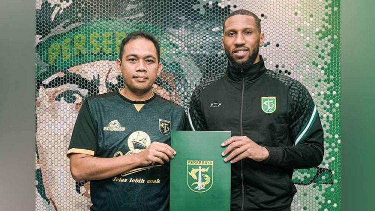 Resmi, Persebaya Surabaya Rekrut Mantan Pemain Leicester City dan Arsenal. Copyright: © instagram@officialpersebaya
