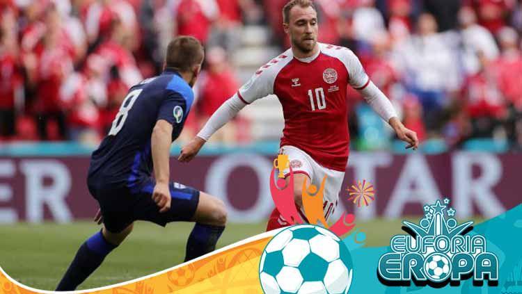 Ambruk di Denmark vs Finlandia, Eriksen Terima Penghargaan dari UEFA Copyright: © Friedemann Vogel - Pool/Getty Images