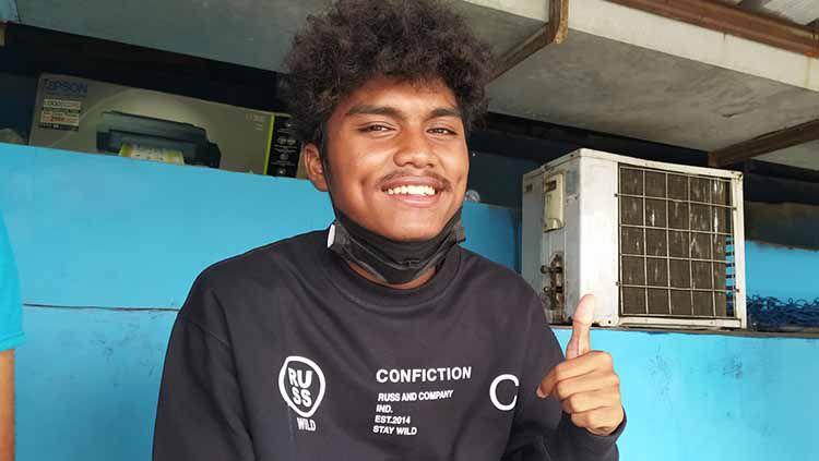 Gelandang muda Persib, Saiful, saat ditemui INDOSPORT.com beberapa waktu lalu. Copyright: © Arif Rahman/INDOSPORT
