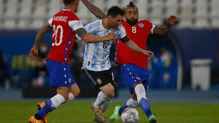 Berikut jadwal Copa America dini hari nanti, kans nyata Chile dan Uruguay kudeta Argentina! Copyright: © Wagner Meier/Getty Images