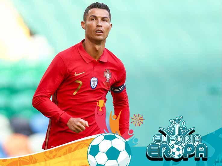 Jelang Hungaria vs Portugal, 5 Rekor yang Bisa Dipecahkan Cristiano Ronaldo di Euro 2020