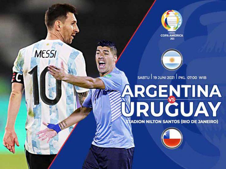 Prediksi Copa America 2020 Argentina vs Uruguay: Duel Striker Tajam