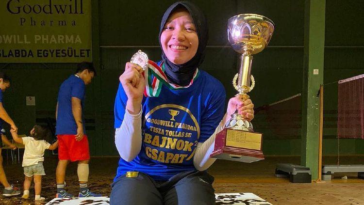 Febby Angguni, Pebulutangkis Indonesia yang Juara di Italia Copyright: © instagram.com/febby_angguni