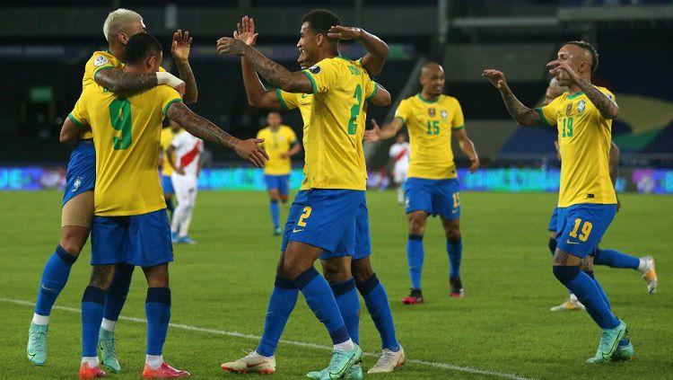 Klasemen Copa America: Belum Terkalahkan, Brasil Perkasa di Puncak Copyright: © Buda Mendes/Getty Images