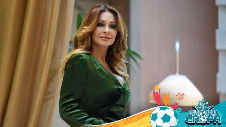 Paola Ferrari, presenter Italia di Euro 2020. Copyright: © Vittorio Zunino Celotto/Getty Images