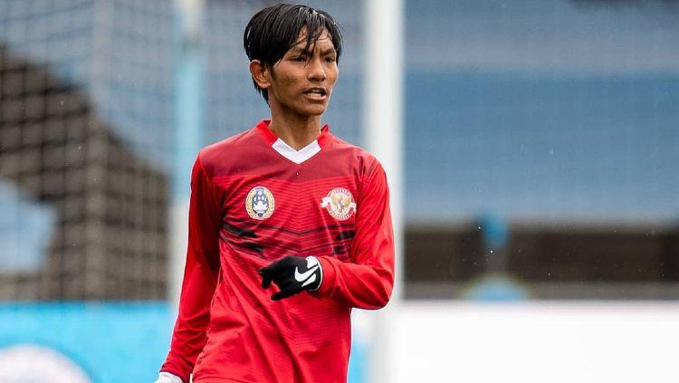 Ibnul Mubarak, pemain Indonesia di Garuda Select Copyright: © instagram.com/ibnulmubarak_19/