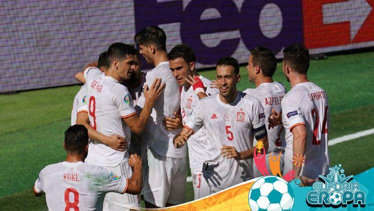 Pertandingan Euro 2020: Slovakia vs Spanyol Copyright: © Pressinphoto/Icon Sport/gettyimages