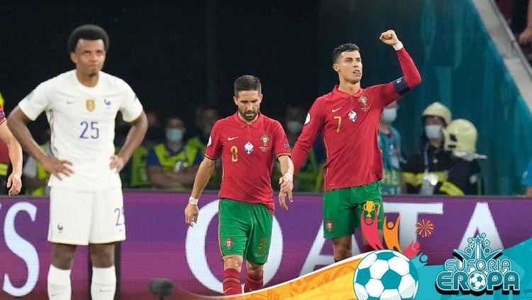 Pertandingan Euro 2020: Portugal vs Prancis Copyright: © Photo by DARKO BANDIC/POOL/AFP via Getty Images