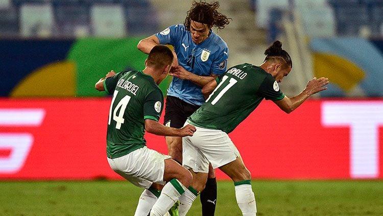 Bolivia vs Uruguay. di Copa America 2021. Copyright: © Rogerio Florentino/Getty Images