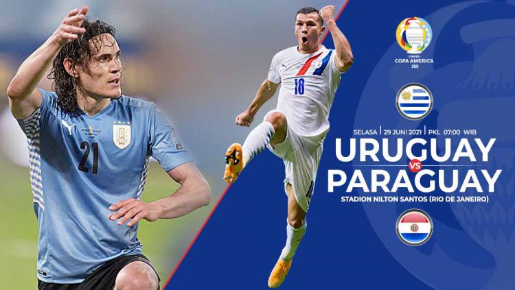 Link Live Streaming Copa America 2021: Uruguay vs Paraguay ...
