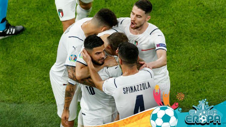 Hasil Euro 2020: Belga vs Italia Copyright: © Matteo Ciambelli/DeFodi Images via Getty Images