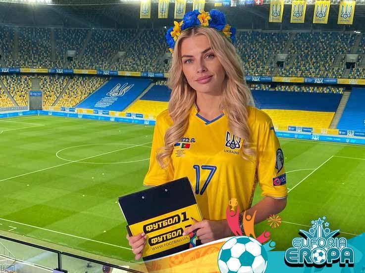 Dari Musuh Guardiola hingga Model Papan Atas, 5 Wags Cantik Ukraina di Euro 2020