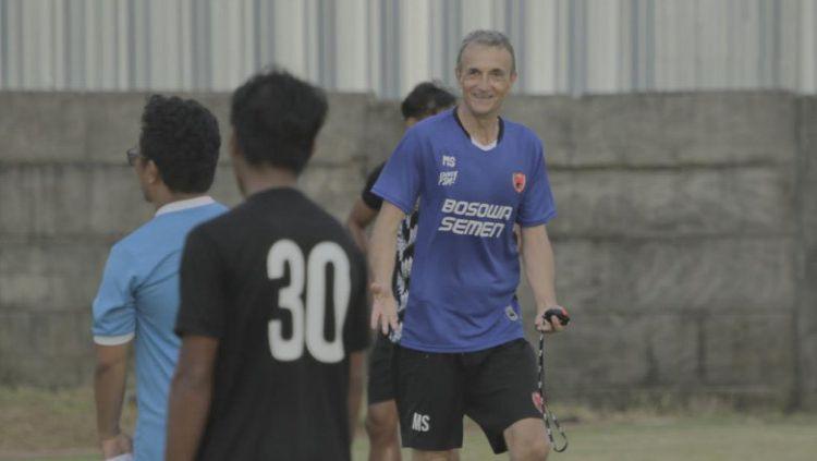 Pelatih PSM Makassar, Milomir Seslija. Copyright: © Media PSM Makassar
