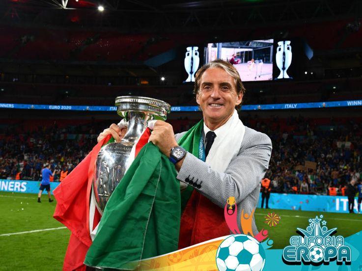 Roberto Mancini: Si Pemutus Puasa Gelar dari Italia