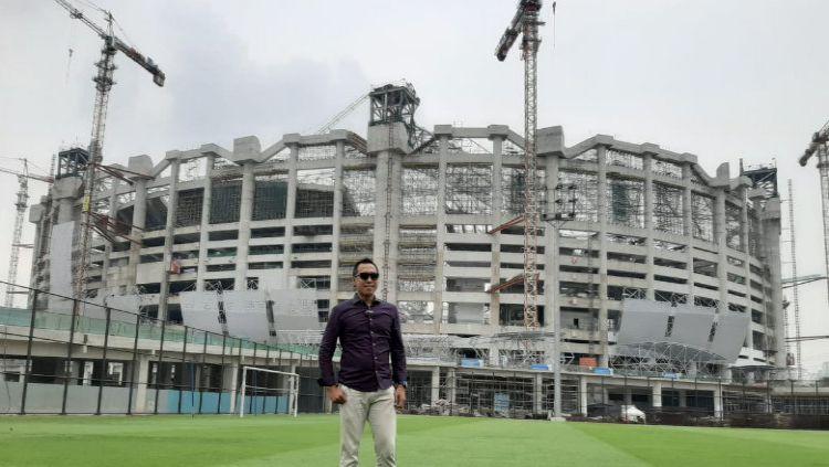 Jakarta International Stadium (JIS), markas baru Persija Jakarta mendapatkan pujian setinggi langit dari media kenamaan asal Malaysia. Copyright: © Dok. Pribadi JIS
