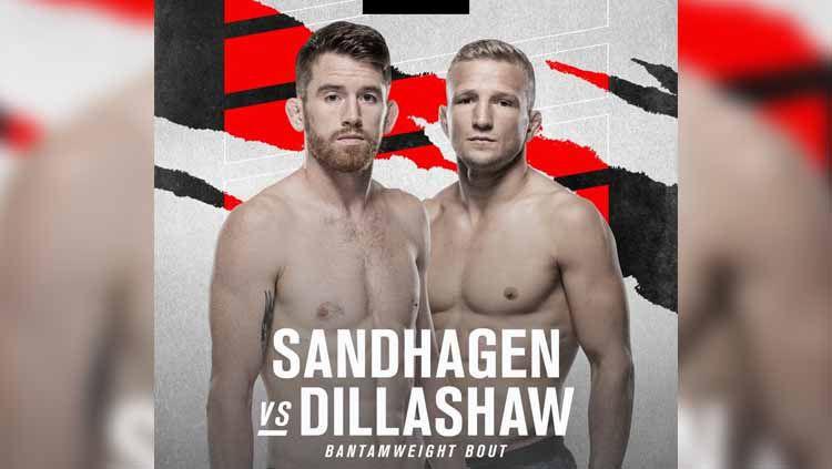 Cory Sandhagen vs T.J. Dillashaw di UFC Vegas 32 Copyright: © UFC
