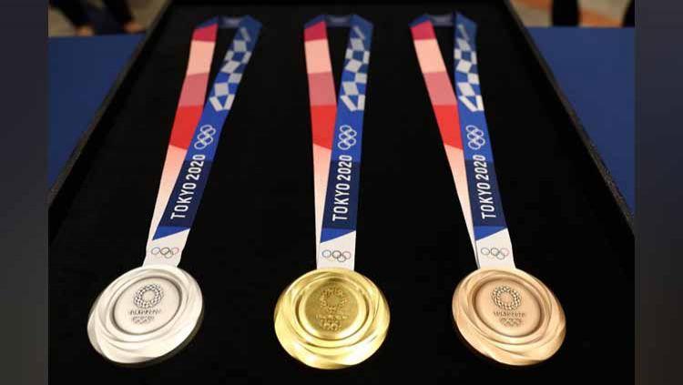 Medali Olimpiade Tokyo 2020. Copyright: © medcom