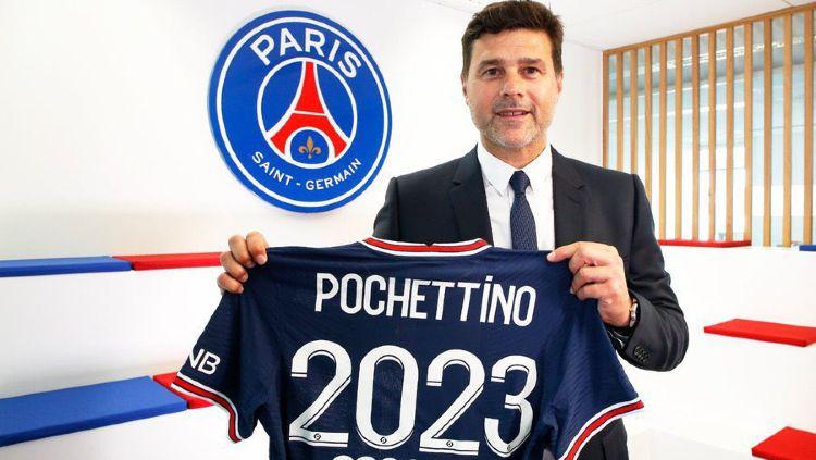 PSG Perpanjang Kontrak Mauricio Pochettino Hingga 2023 Copyright: © twitter.com/PSG_inside