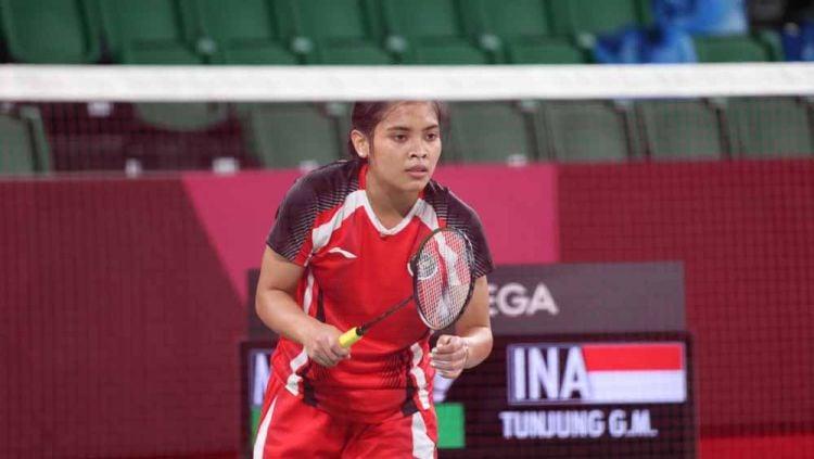Gregoria Mariska Tunjung, atlet bulutangkis tunggal putri Indonesia. Copyright: © NOC Indonesia