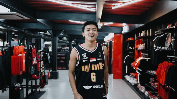 Pemain baru Bali United Basketball Team, Abraham Wenas. Copyright: © Dok Bali United