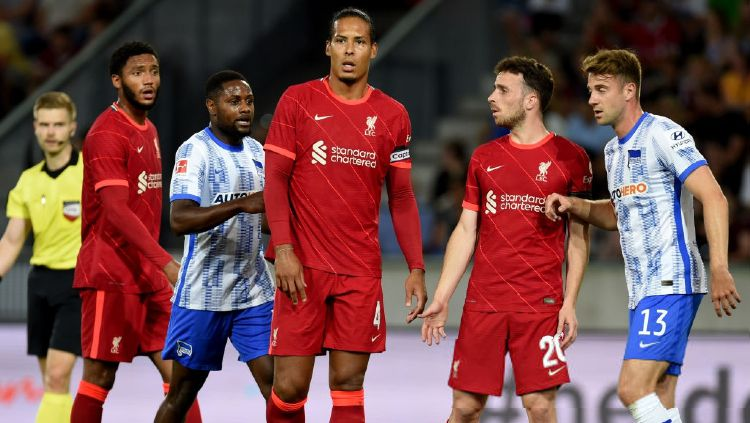 Hasil Pramusim Herta Berlin vs Liverpool Copyright: © John Powell/Liverpool FC via Getty Images