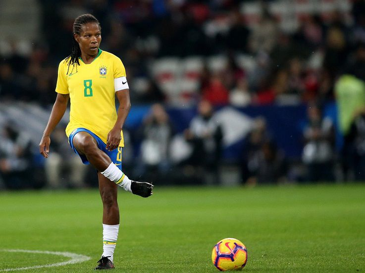 Formiga, Legenda Sepak Bola Brasil yang Buru Emas Perdana di Olimpiade Ketujuh